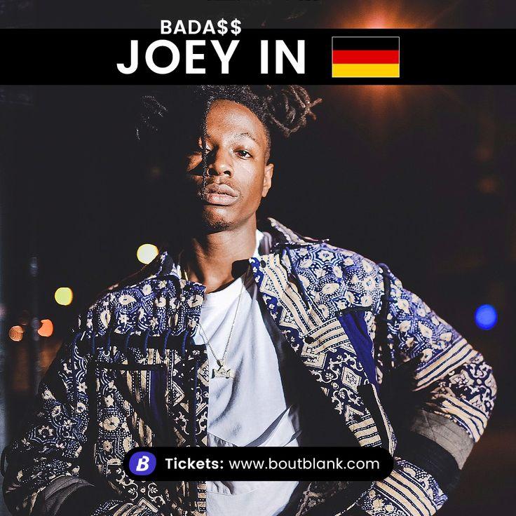 Joey Badass Deutschland Tour und Konzerte. Infos und Tickets bei Boutblank.com