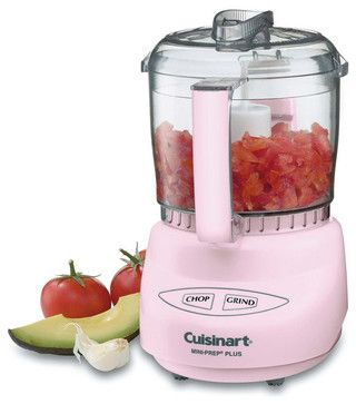 Check out the pink on this food processor!
