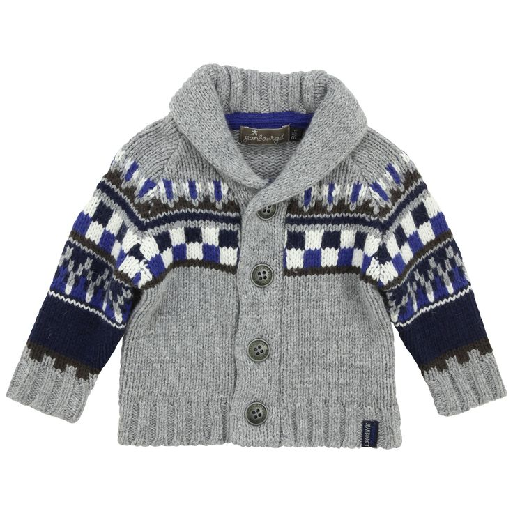 Jean Bourget Tiny Boy cardigan (Casual)
