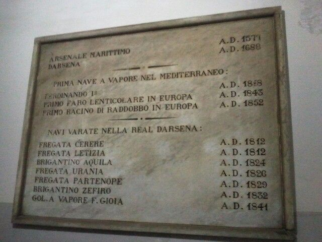 Arsenale Borbonico nel Napoli, Campania