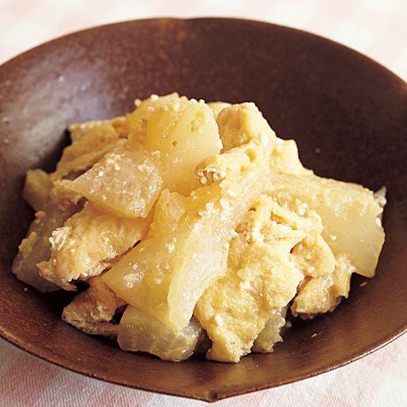大根と油揚げのみそ煮   小林まさるさんの煮ものの料理レシピ   プロの簡単料理レシピはレタスクラブニュース