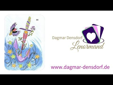 Kartenlegen lernen mit Lenormand | Dagmar Densdorf Lenormand | Lenormandkarte der Anker - YouTube