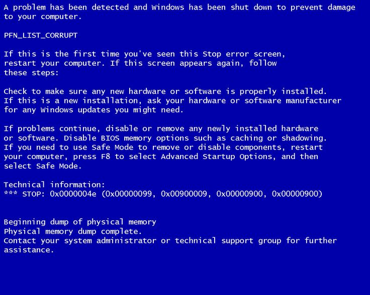 If your computer is running slow, freezing, or crashing try speeding it up here -- blue screen of death --- http://mycomputercleanup.com/bluescreenfix/