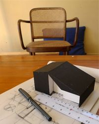 The House That Henri Built: Normally I would show you a house when it is finished and has been lived in...[design blog]