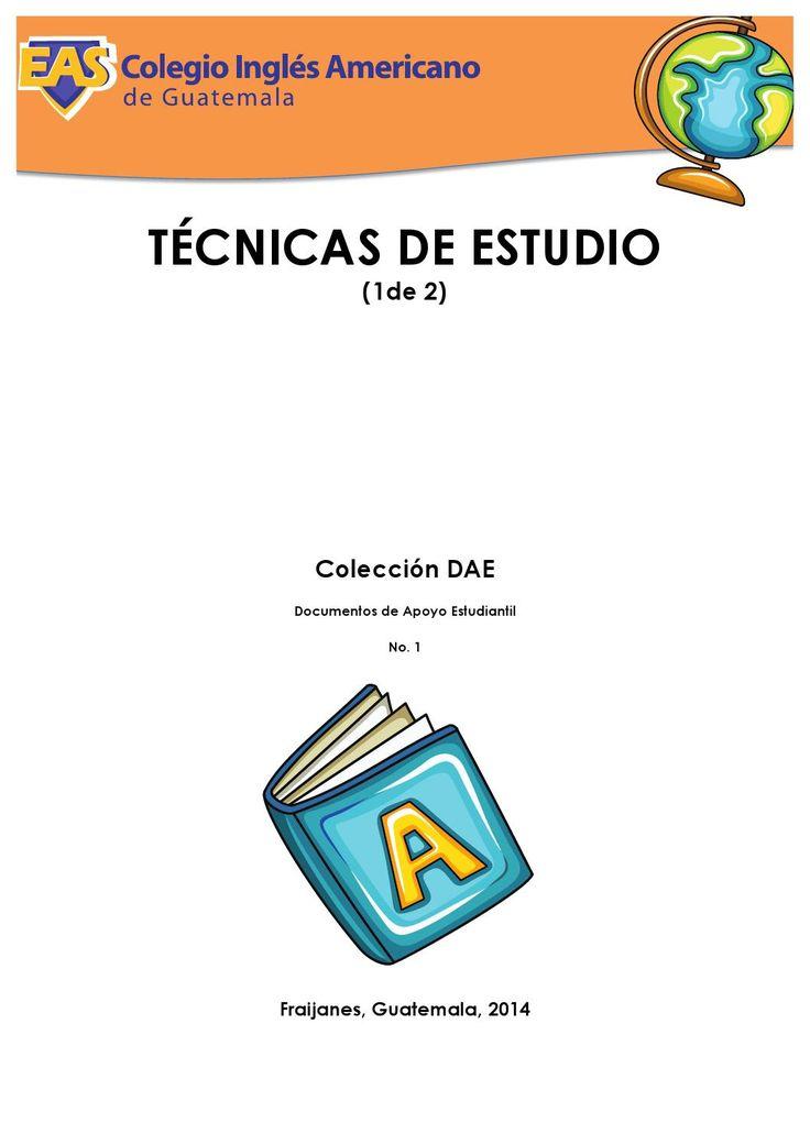 Técnicas de Estudio No. 1