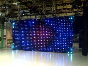 $1000, ships from UK: starvision (13ft x 7ft)- soft LED motion drape animation Backdrop