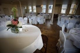The Exchequer Room set up for a wedding