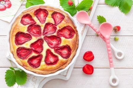 Tarte fraise facile