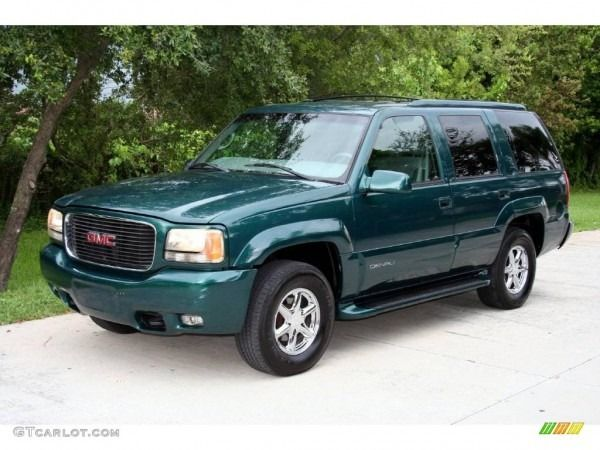 2000 Emerald Green Metallic Gmc Yukon Denali 4x4 17192878 Gmc