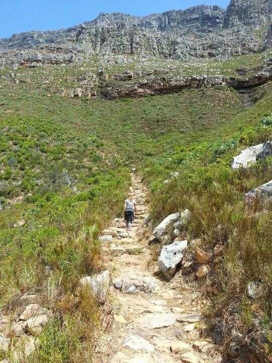 Trekking Table Mountain (Cape Town)