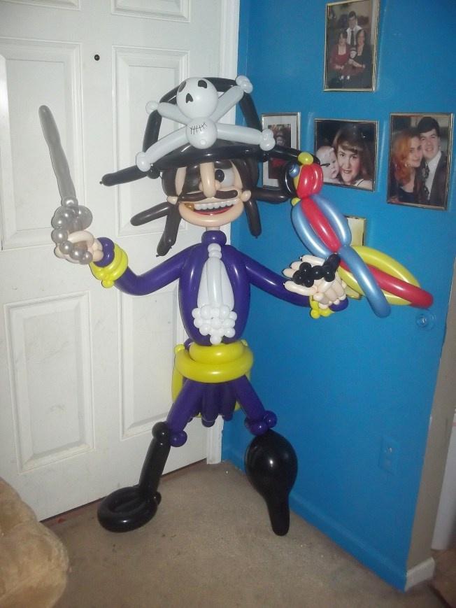 пираты из шаров картинки