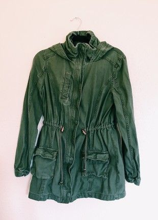 Buy here at #vinteduk http://www.vinted.co.uk/womens-clothing/other-coats-and-jackets/6606082-cotton-on-green-utility-jacket
