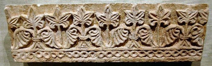 Sassanian (Taq-i-Kisra) - Sasanian wall frieze, Taq-i-Kisra at Ctesiphon, 540 AD , begun by Khosrau I (Reign 531-572).
