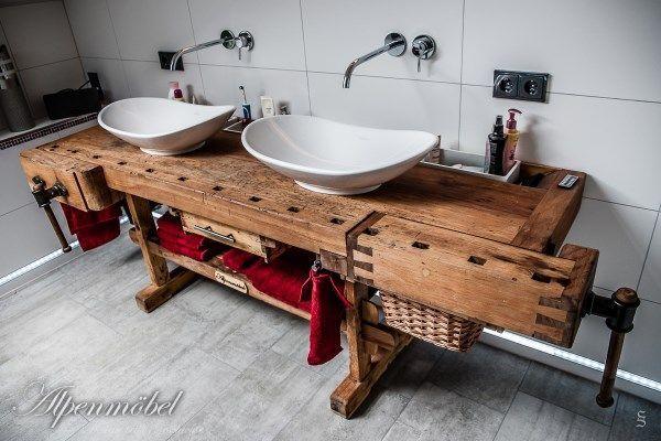 Alpenmobel Design Trifft Geschichte Referenzen Holzbearbeitung Innenarchitektur Kuche Rustikale Bader Badezimmer Rustikal