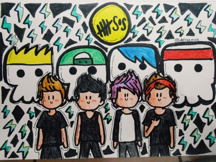 63 best images about 5 Seconds of Summer-FanArt on ...