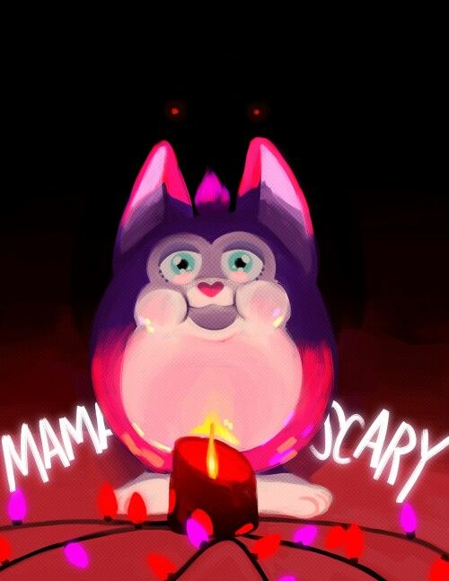 Awesome Tattletail horror game fan art. This little munchkin of a baby Tattletail is telling us that Mama's scary. Time for the ritual!