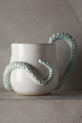 Anthropologie Octopoda Mug