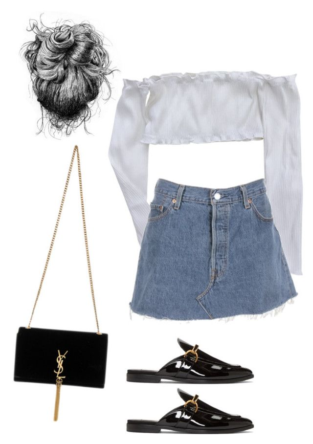 """""""Untitled #5173"""" by lilaclynn ❤ liked on Polyvore featuring STELLA McCARTNEY, Yves Saint Laurent, YSL, StellaMcCartney, saintlaurent and yvessaintlaurent"""