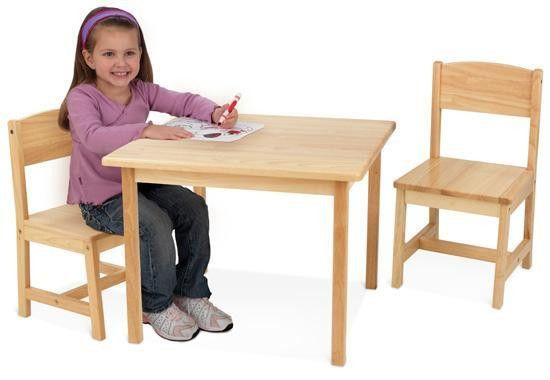 Aspen Table & Chairs set - Natural