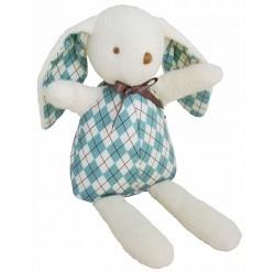 Alimrose Vintage Bunny - Blue Harlequin