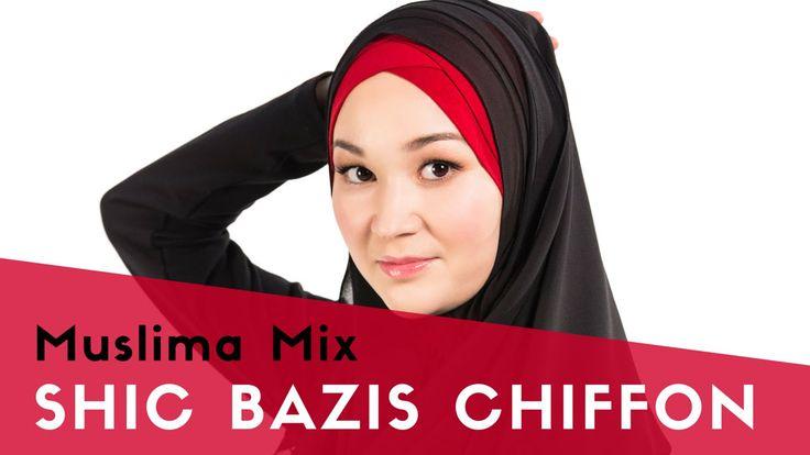"""Как одевать хиджаб быстро: SHIC BAZIS CHIFFON - #11 модель коллекции """"Мгновенные хиджабы""""    {{AutoHashTags}}"""