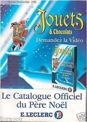 ▬► Catalogue Jouets Leclerc 1996 POWER RANGERS_SPIDERMAN_DRAGON BALL Z_.........