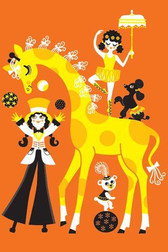 Affisch. Ingela P A. Cirkus
