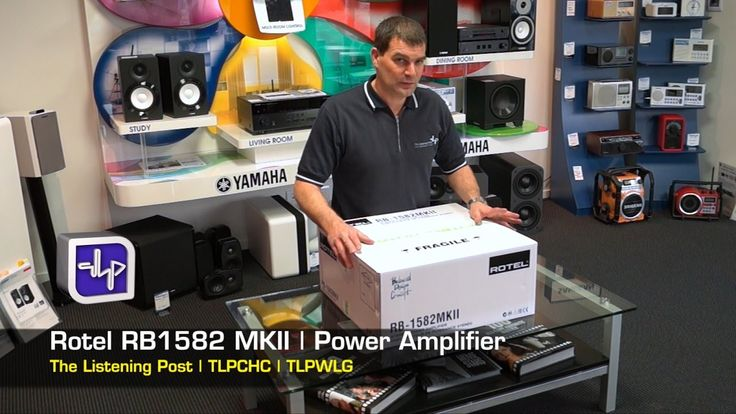 Rotel RB-1582 MKII Unboxing, First Look, Hands On, Review | The Listenin...
