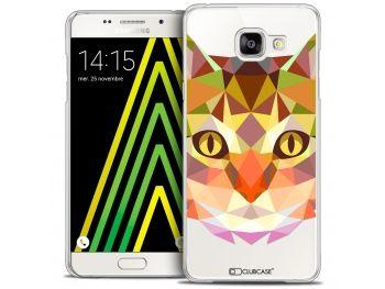 Coque Crystal Galaxy A5 2016 (A510) Extra Fine Polygon Animals - Chat - 7,90 €