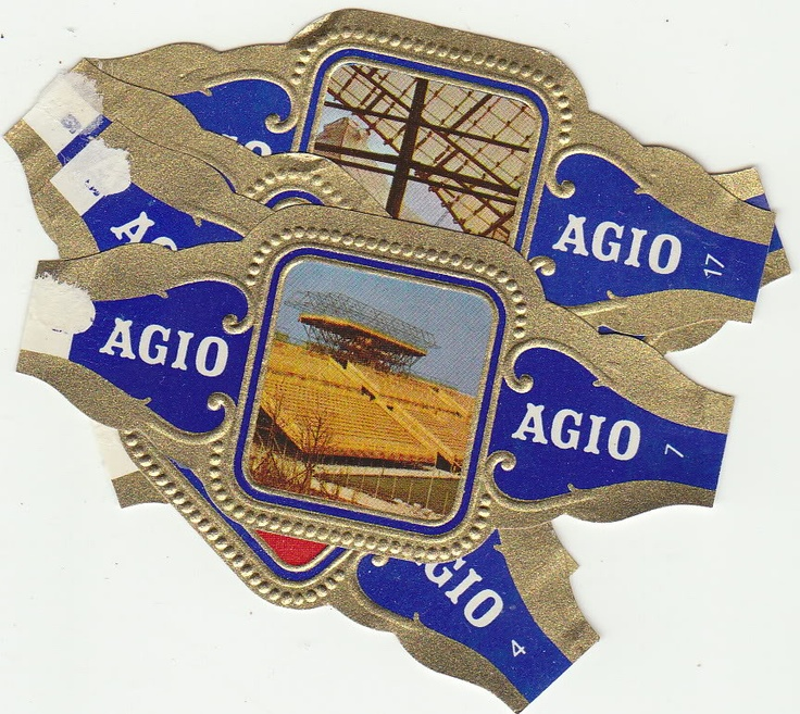 I found this on www.urbitrend-collectables.com 24 cigar bands agio olympic games Munchen 1972