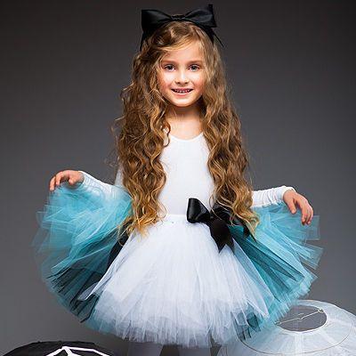 """Купить """"Алиса в стране чудес"""" пышная юбка-пачка и ободок с бантом - алиса в стране чудес"""