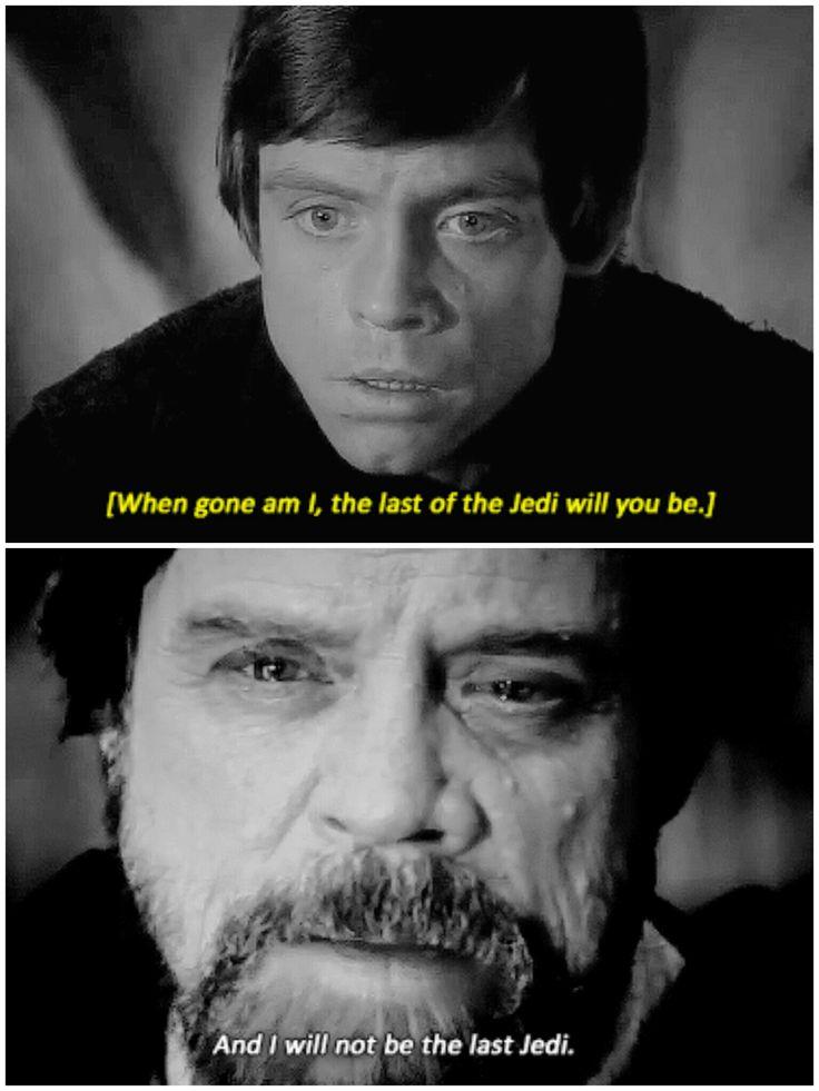 Return of The Jedi (1983) // The Last Jedi (2017)#luke skywalker #star wars #tlj spoilers