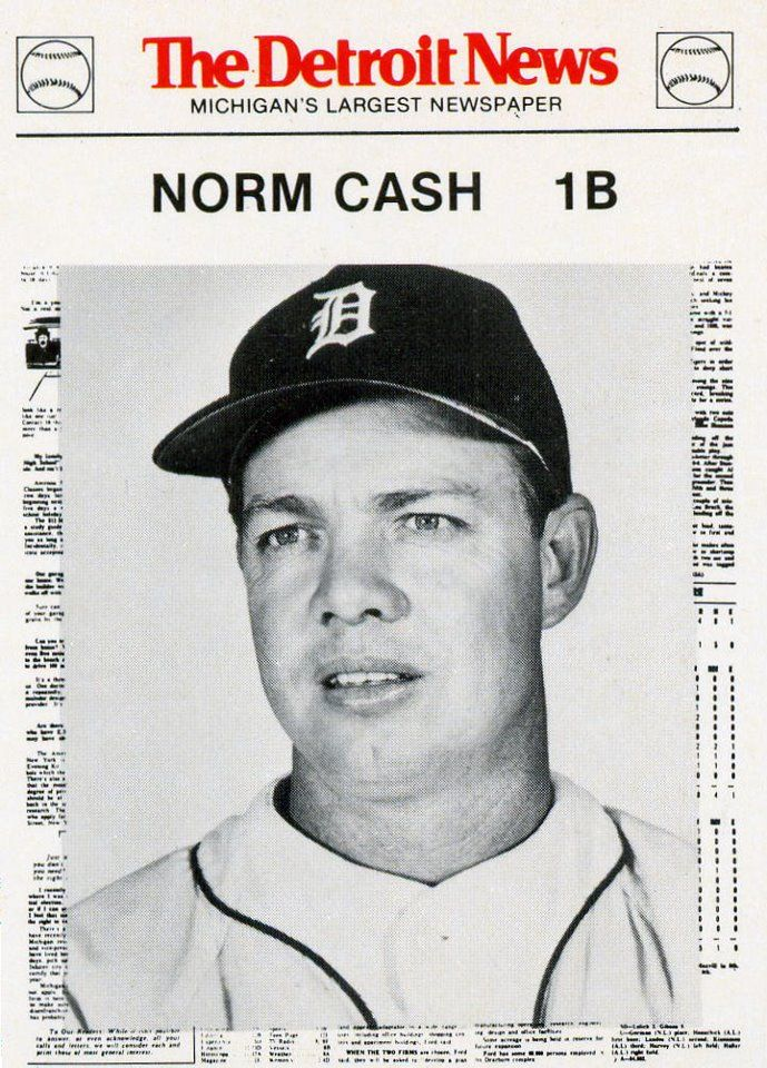 In 1961: Norm Cash became the first Detroit Tiger to hit a ball out of Tiger Stadium!