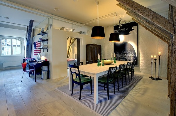 Old Cultural and #Modern #Apartment in #Stockholm