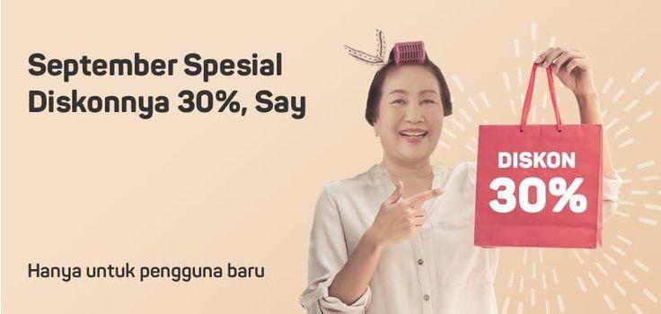😘 Diskonnya 30% Ayo belanja lagi di Bukalapak.com banyak. Khusus pengguna baru bisa lebih hemat belanja apa saja. 👍  Jangan lupa cari produk pilihan disini https://goo.gl/KU8KfG 👍