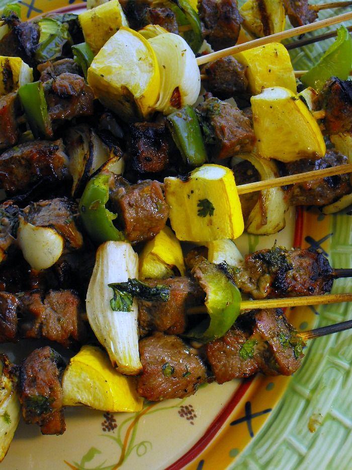 ... KABOBS on Pinterest | Grilled sweet potatoes, Skewers and Sweet n