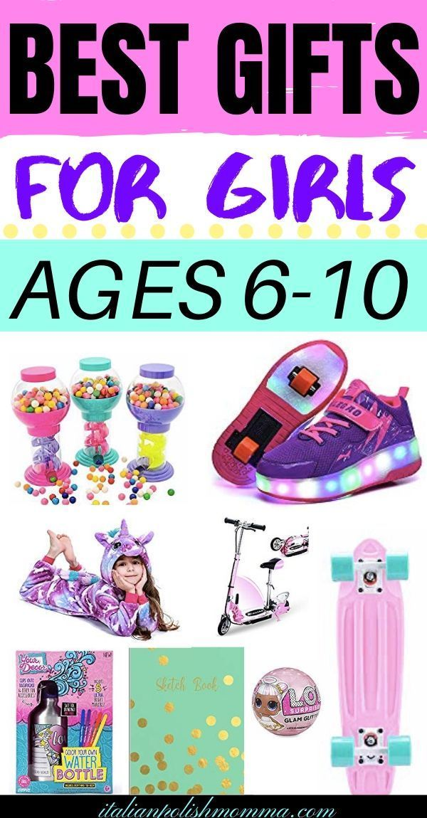 15 Cool Gift Ideas For Girls Ages 6 to 10 | Cool gifts for kids, 10 year old gifts, Best gifts ...
