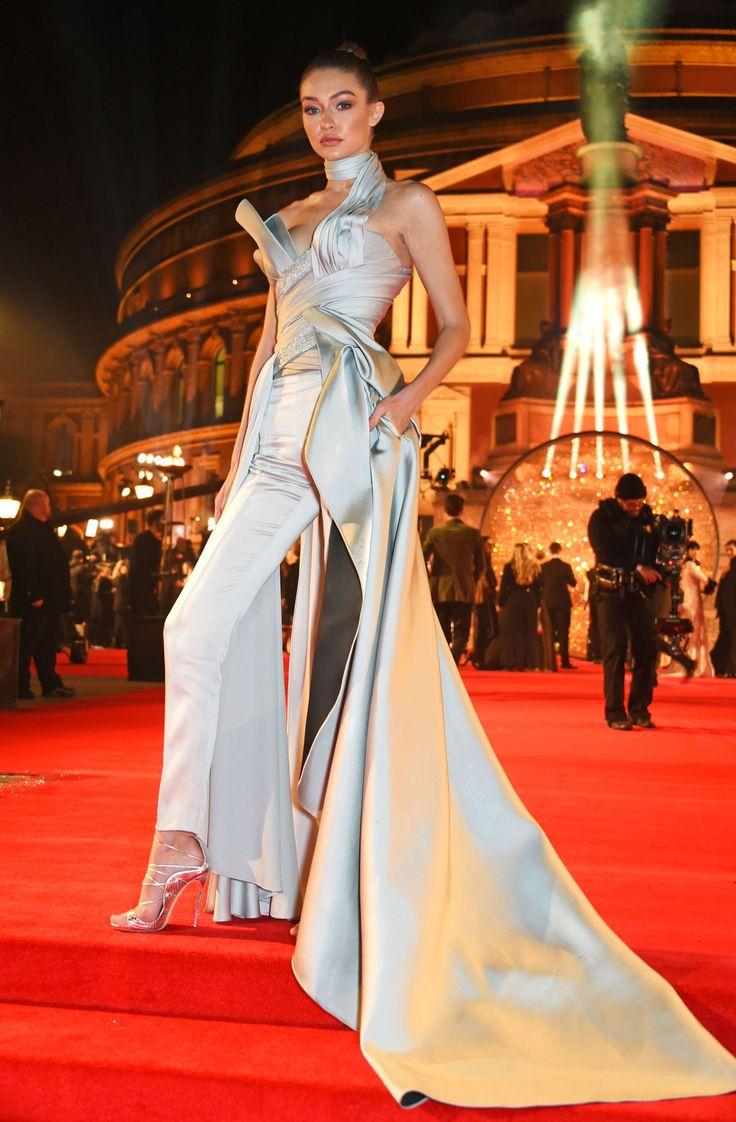 Gigi Hadid Wore the Jumpsuit Version of Cinderella's Gown  - ELLE.com