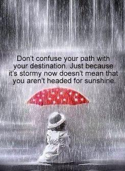 Path versus #destination. #Think