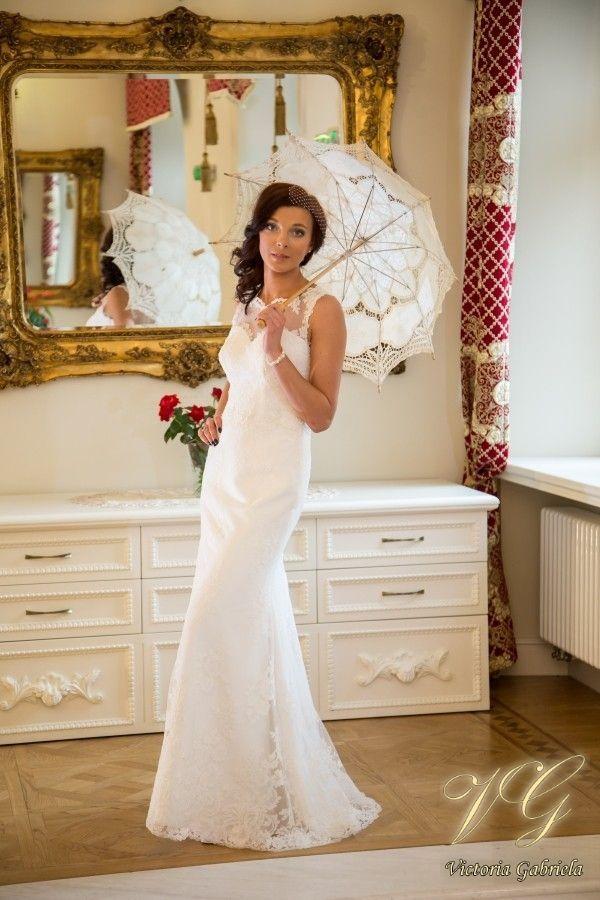 Suknia ślubna nr 8 z kolekcji Toscana #victoriagabriela #weddingdress