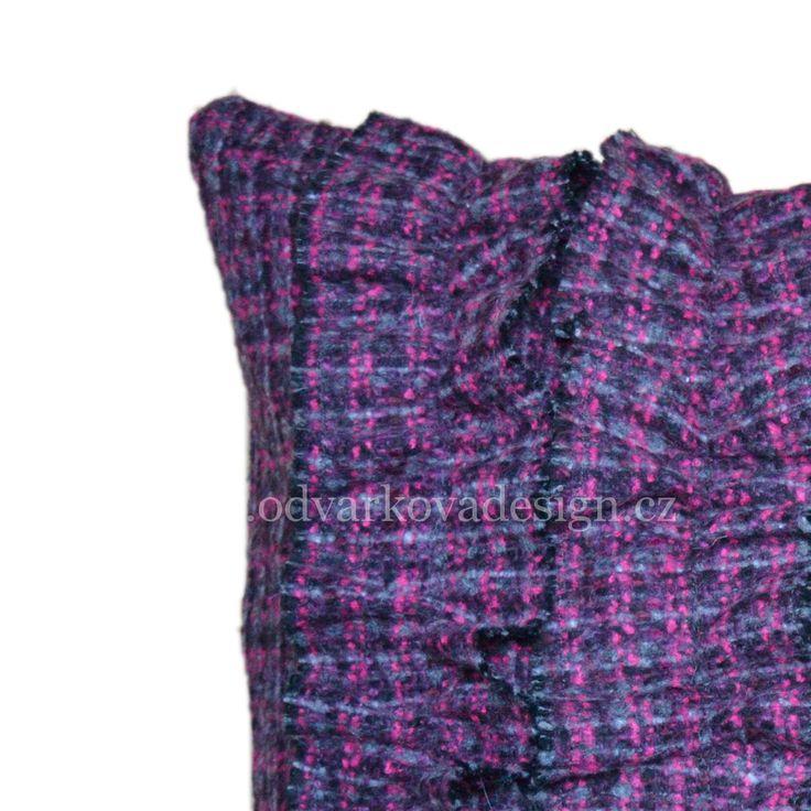 "pillow FRANCOISE, collection ""CHERCHEZ LA FEMME"". www.odvarkovadesign.cz"