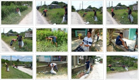 FCD Environmental Youth Group Cleanup Campaign