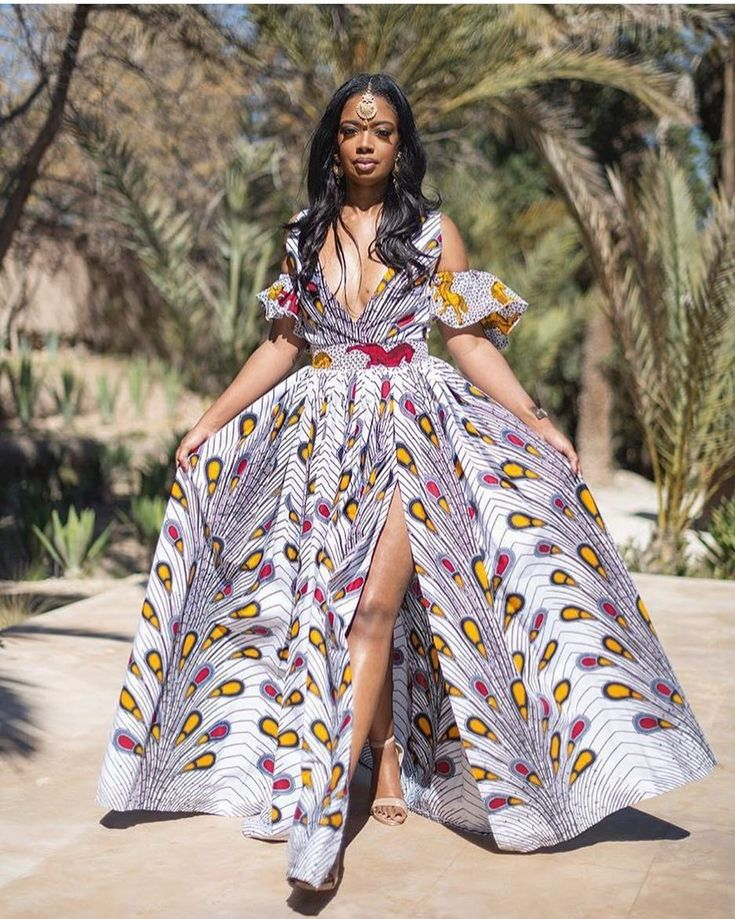 """449 Likes, 3 Comments - Ankara Collections (@ankaracollections) on Instagram: """"Beautiful @ariansimone #ankaracollections #ankarastyles"""" #AfricanFashion"""