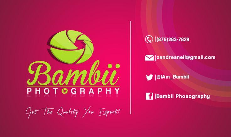Business Card ( Bambii Photography)