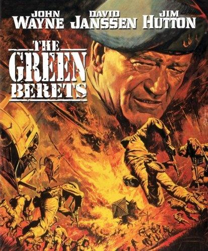 """The Green Berets"" (1968).: Movie Posters, Wayne Movie, Green Berets, Vietnam War, Favorite Movies, John Wayne, Berets 1968, Favorite Film"