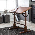 Studio Designs Vintage Drafting Table - Rustic Oak