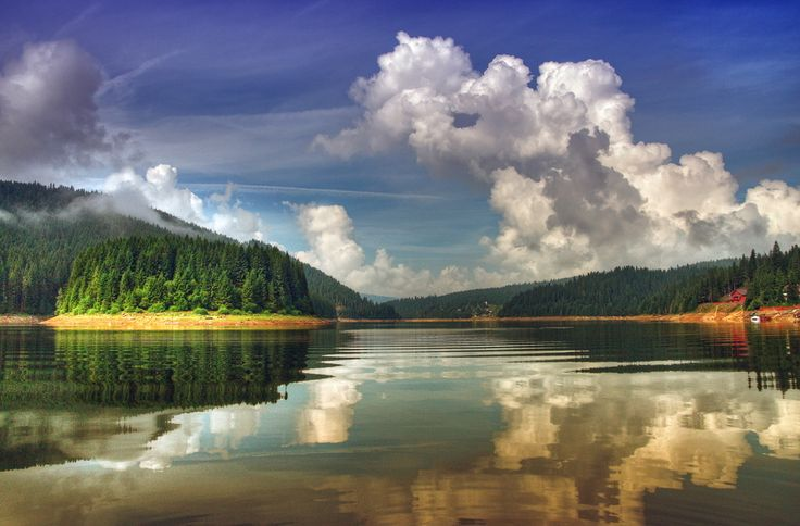 #Lacul artificial #Beliș-Fântânele din județul #Cluj este absolut superb!