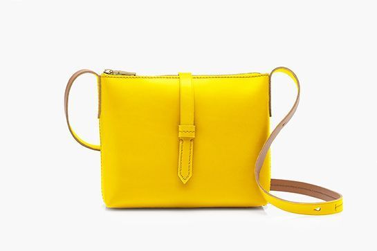 Surprising New Color Trends For Fall '15 #refinery29  http://www.refinery29.com/unexpected-fall-color-combinations#slide-2  Lemon ZestThis structured shoulder bag provides the color burst of our dreams. ...
