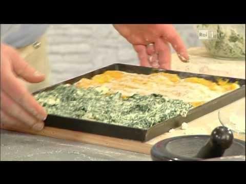Gabriele Bonci - Pizza con zucca ricotta e spinaci.avi
