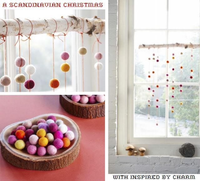 Inspired by a Scandinavian Christmas // Beautiful details at Inspired by Charm